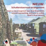 Image for NIEUW: Boek nu een arrangement voor 10 of 20 personen voor het Schutterstoernooi!